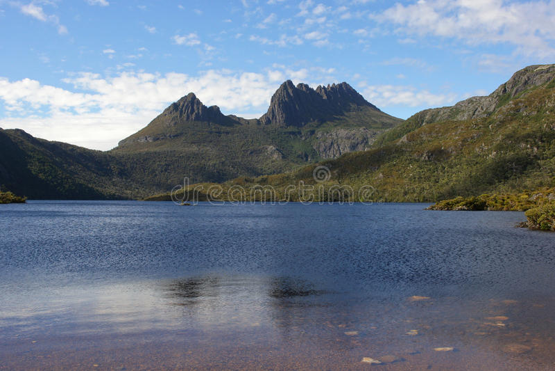 Tasmanien, Wiegen-Berg NP, Australien lizenzfreies stockbild