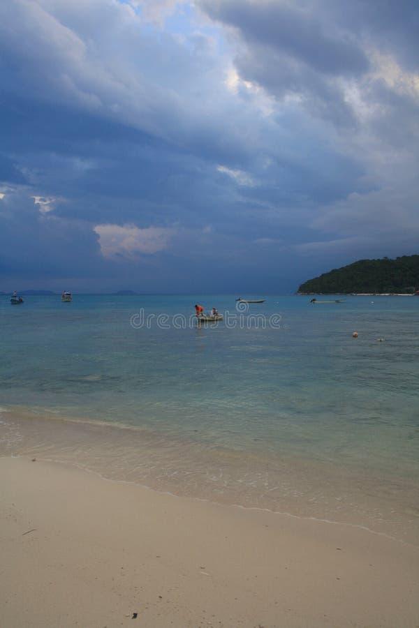 Tassì dell'acqua, Perhentian Besar fotografia stock libera da diritti