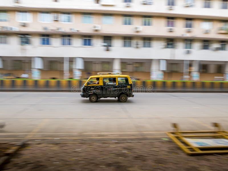 Tassì di Mumbai fotografie stock