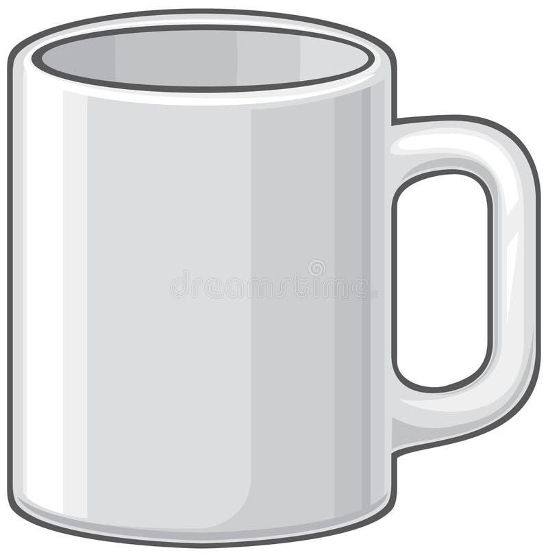 Tasse illustration de vecteur