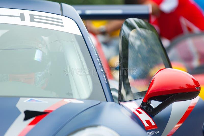 Tasse Asie, coup Saen 2017 de Porsche Carrera photographie stock libre de droits