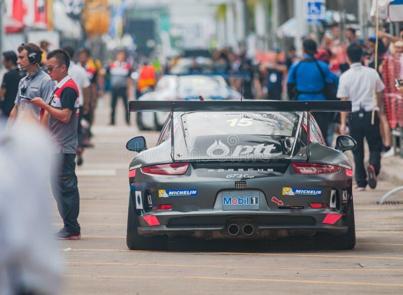 Tasse Asie, coup Saen 2017 de Porsche Carrera photos libres de droits