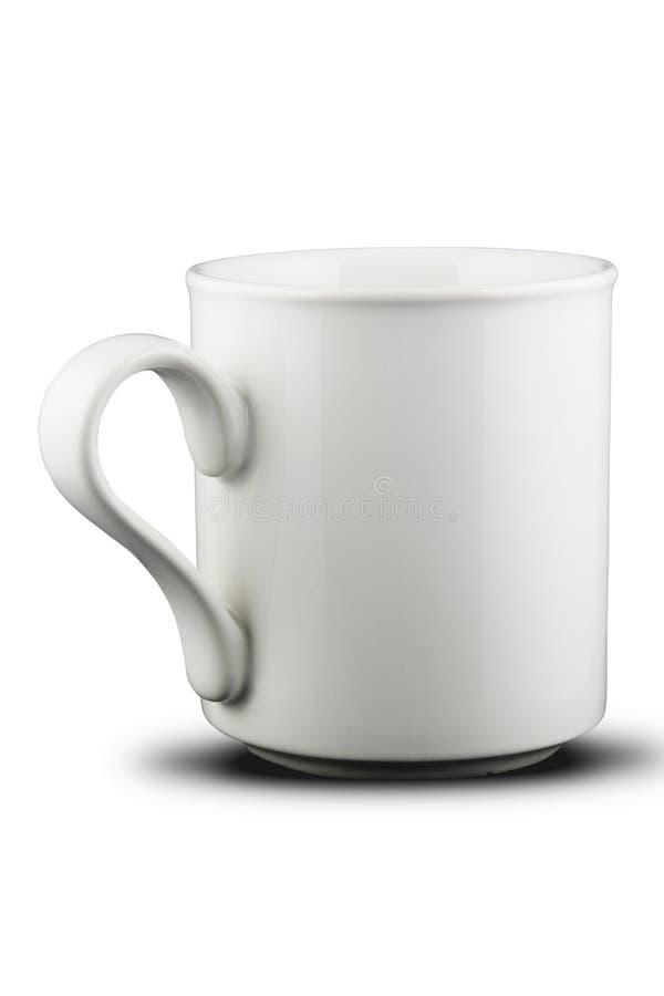 Tasse blanche 1 image libre de droits