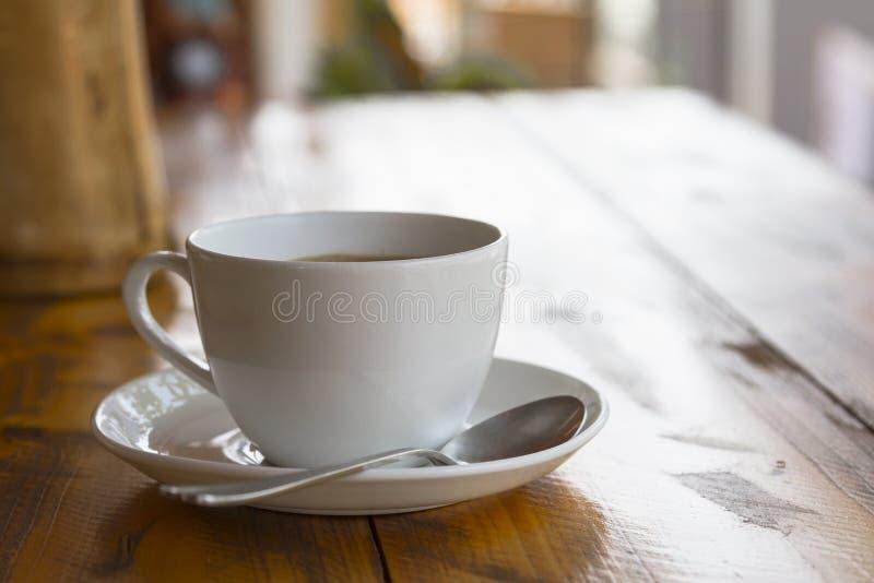 Tasse blanche de masala indien traditionnel de thé image libre de droits