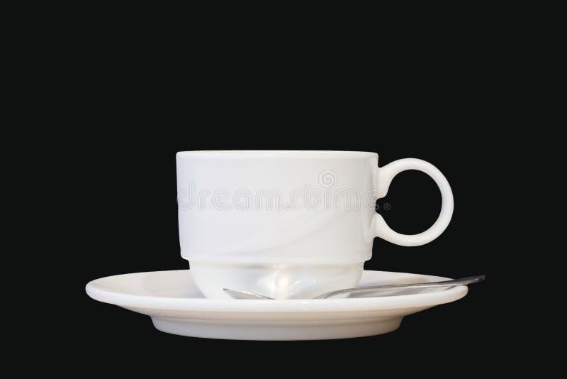 Tasse blanche et photos stock