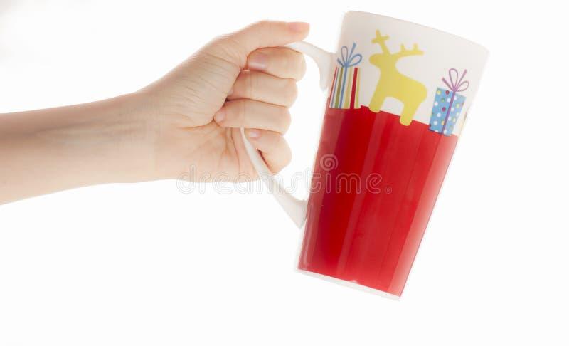 Tasse colorée photos libres de droits