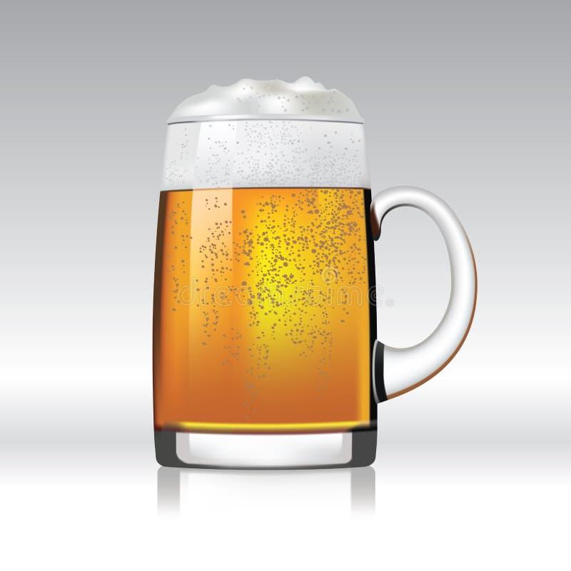 Tasse de bière illustration libre de droits