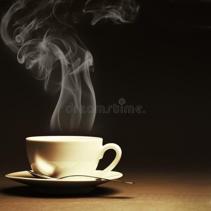 Tasse de café chaud photos libres de droits