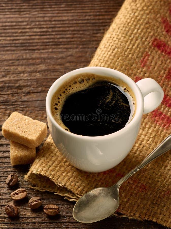 Tasse de café d'expresso de boissons de tasse de café photos libres de droits