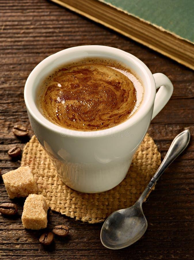 Tasse de café d'expresso de boissons de tasse de café photo libre de droits
