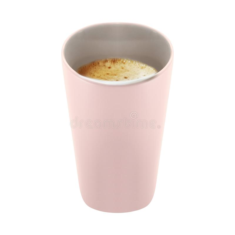 Tasse de café d'isolement image stock