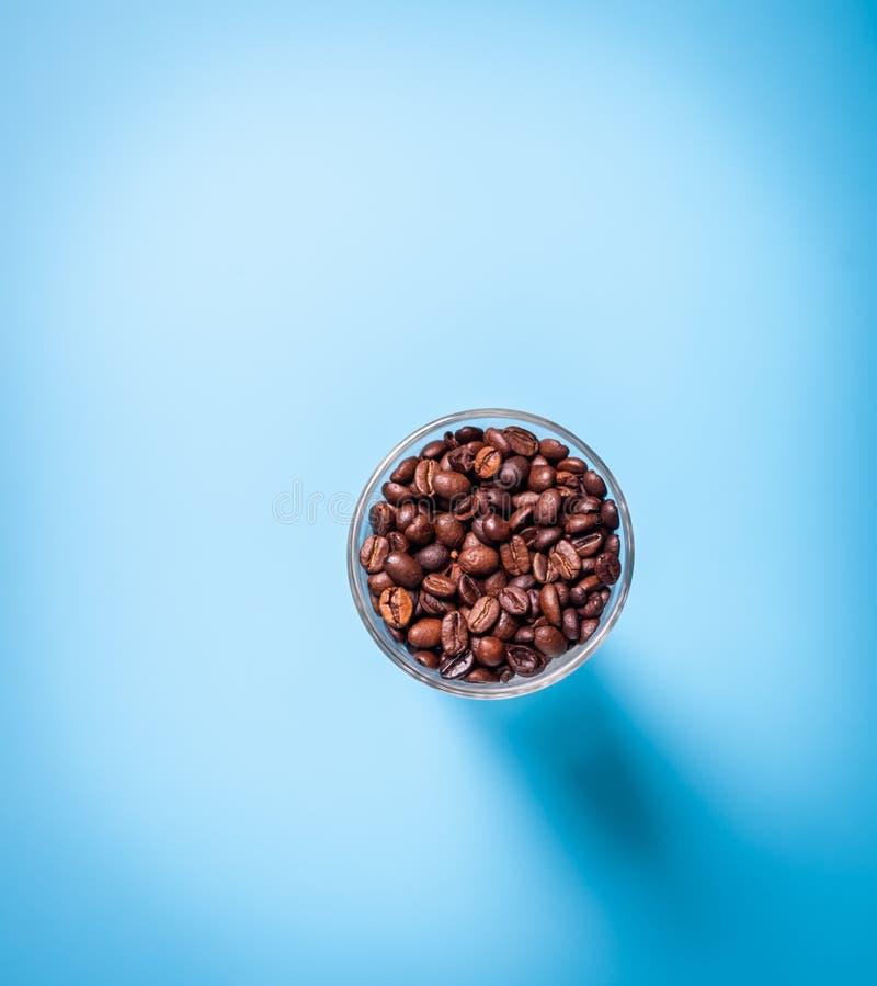 Download Tasse de café en verre photo stock. Image du haut, complètement - 45372270