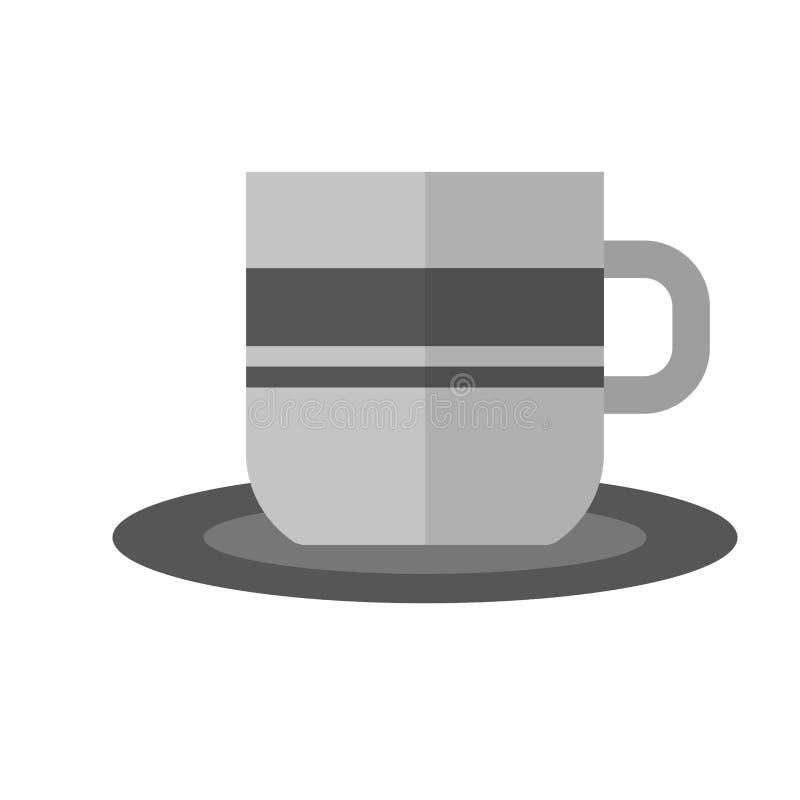Tasse de café I illustration stock