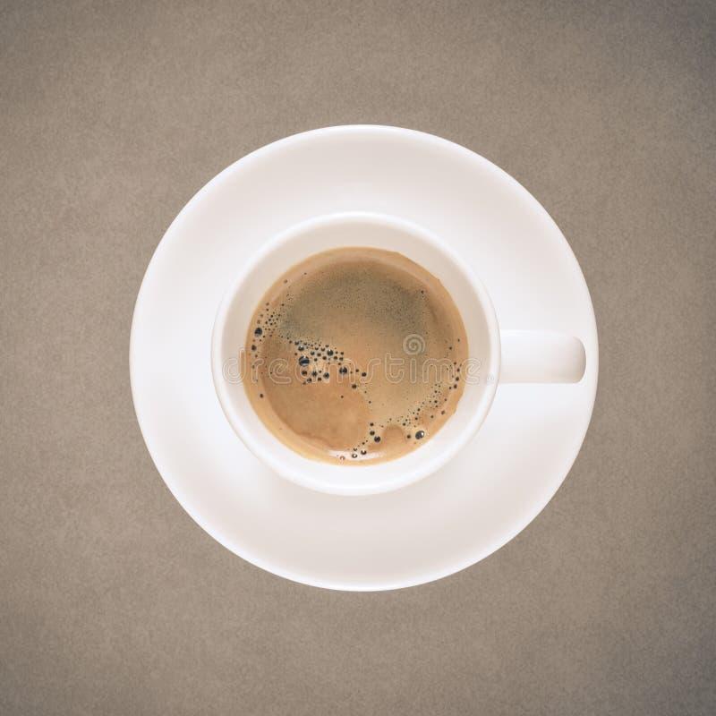 Tasse de café sur la texture de beaux-arts photo libre de droits