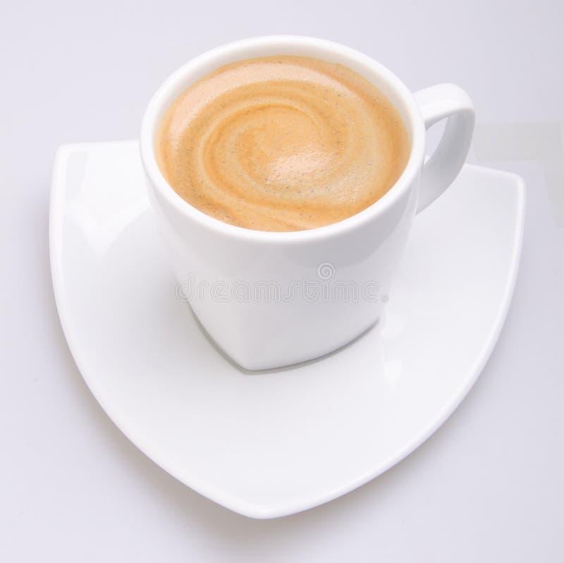 Tasse de café sur le fond photographie stock
