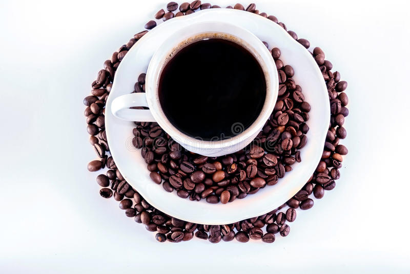 Tasse de coffe image stock