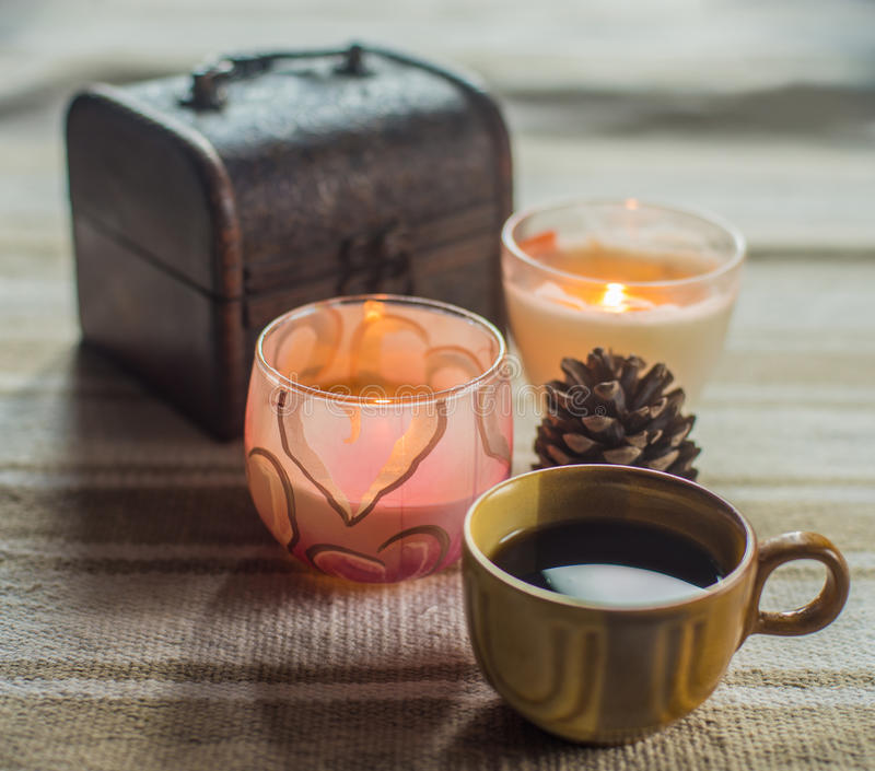 Tasse de coffe photo stock