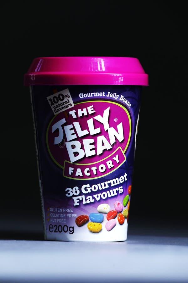 Tasse de Jelly Bean FacÂtoÂry de détaillant néerlandais Albert Heijn, d'isolement photo libre de droits