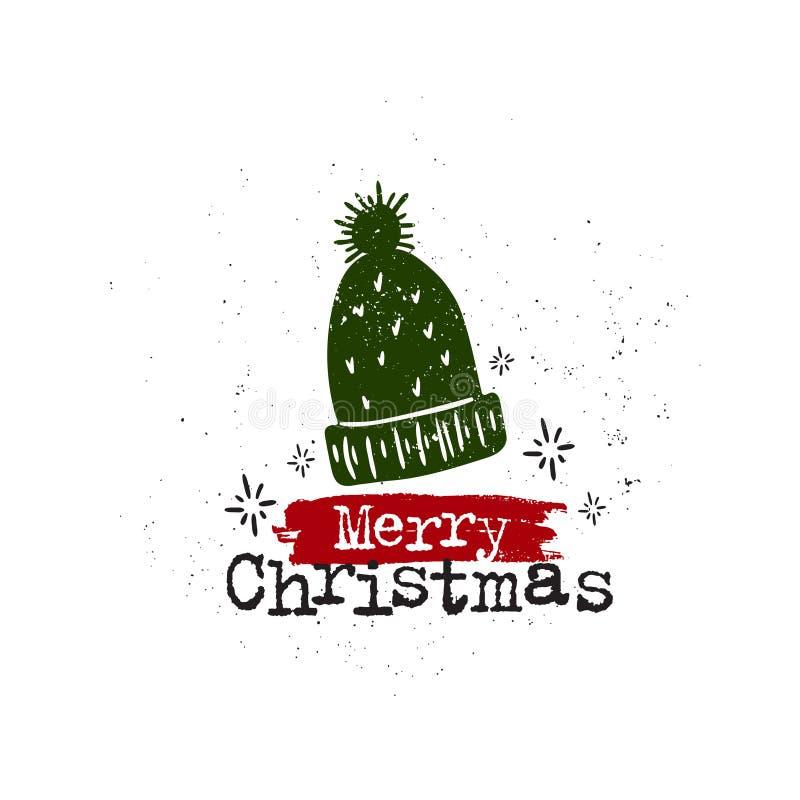 Tasse de Joyeux Noël illustration de vecteur