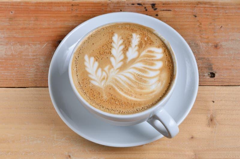 Tasse de lattle images libres de droits