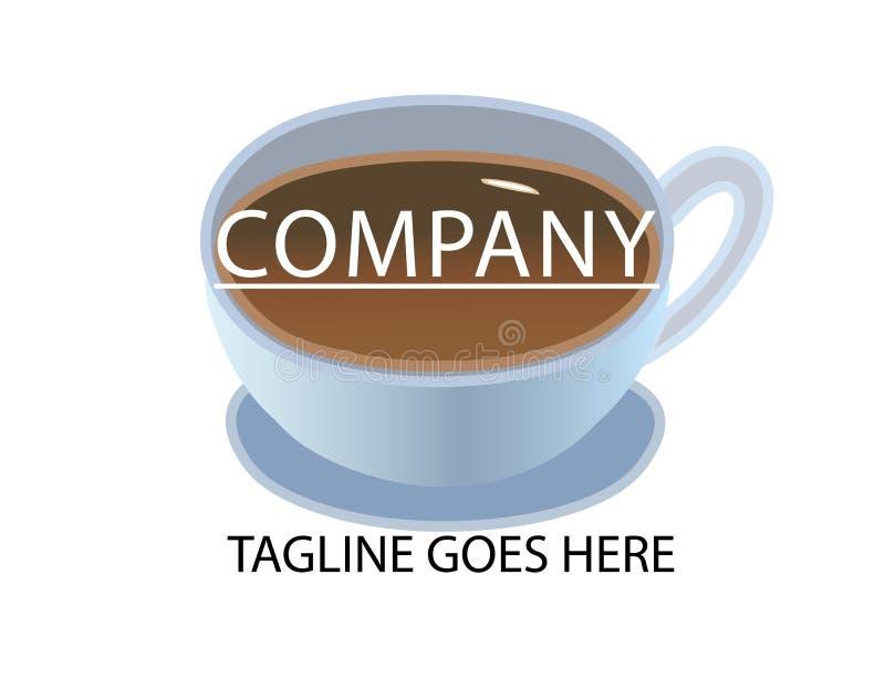 Tasse de logo de th illustration stock