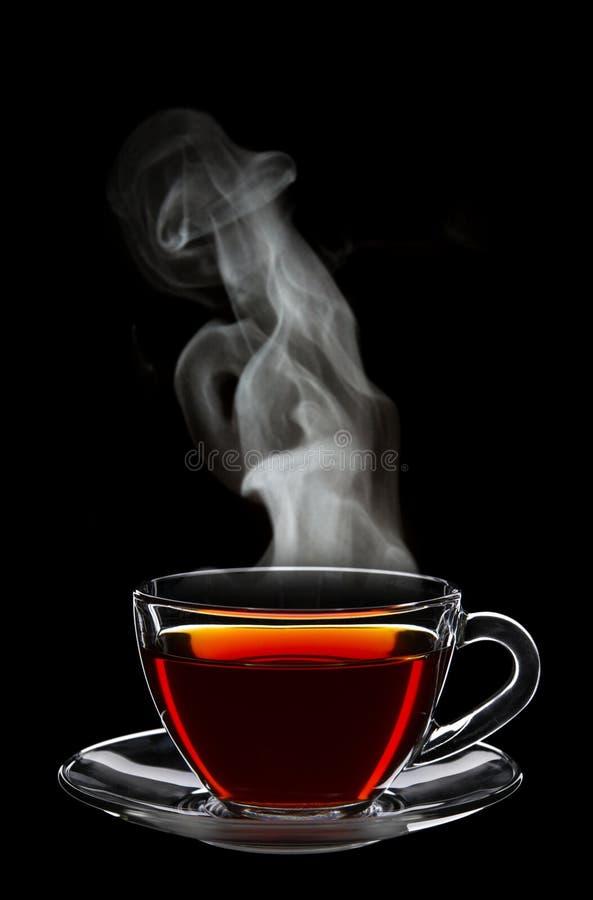 Tasse de thé noir photo libre de droits