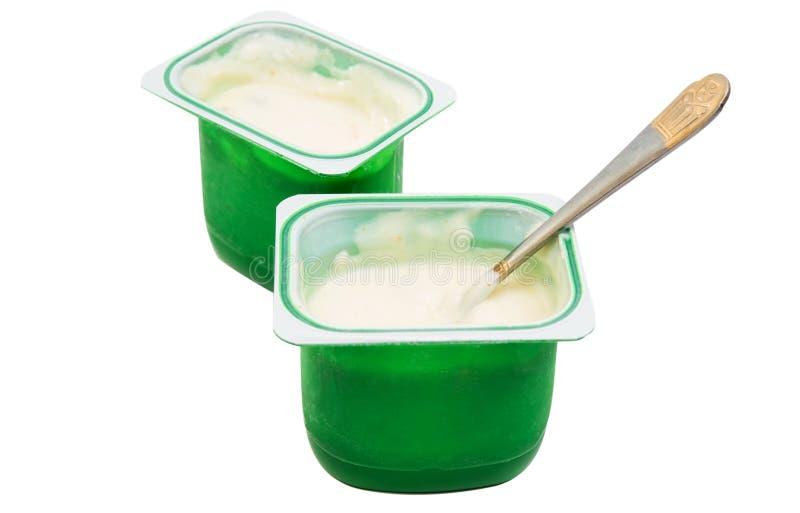 tasse de yaourt images libres de droits