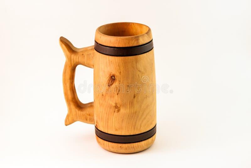 Tasse en bois images stock