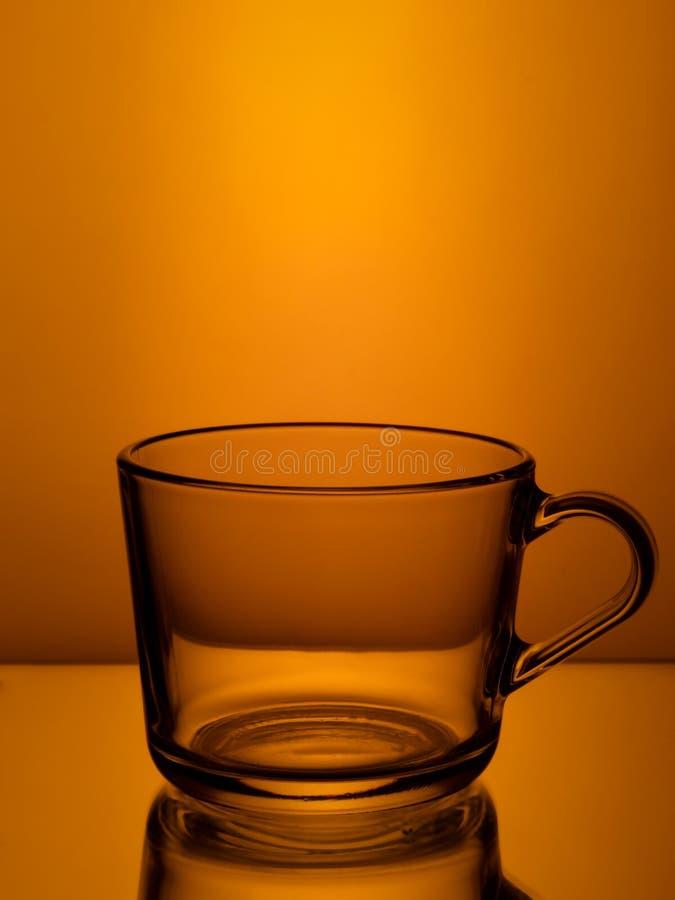 Tasse en verre vide photos stock