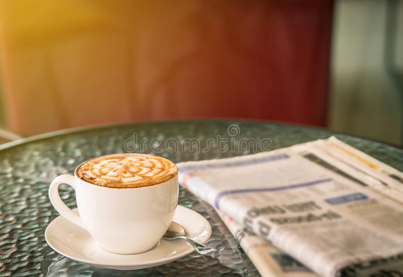 Tasse Kaffee stockfotografie