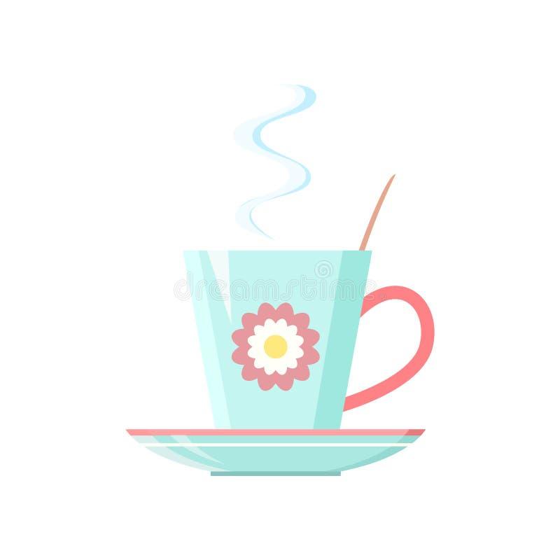 Tasse Kaffee, Tee stock abbildung