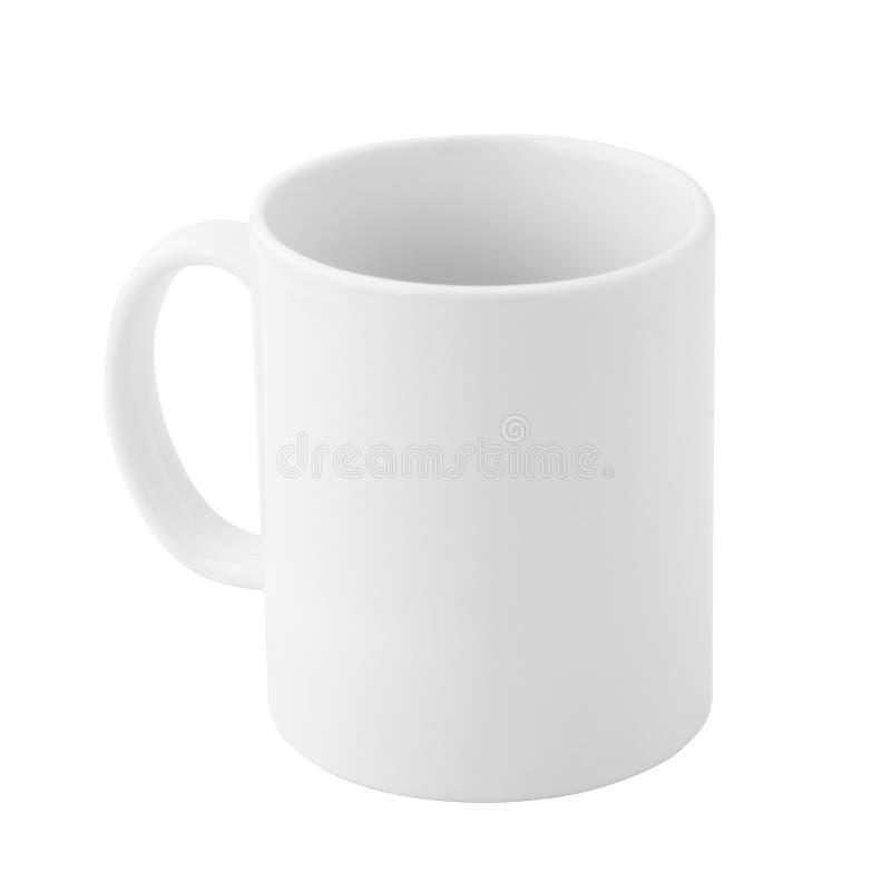 Tasse ordinaire de porcelaine photo stock