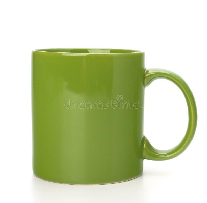 Tasse ou cuvette de thé vert photo libre de droits