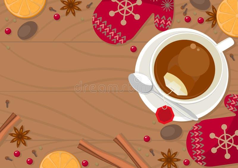 Tasse Tee lizenzfreie abbildung