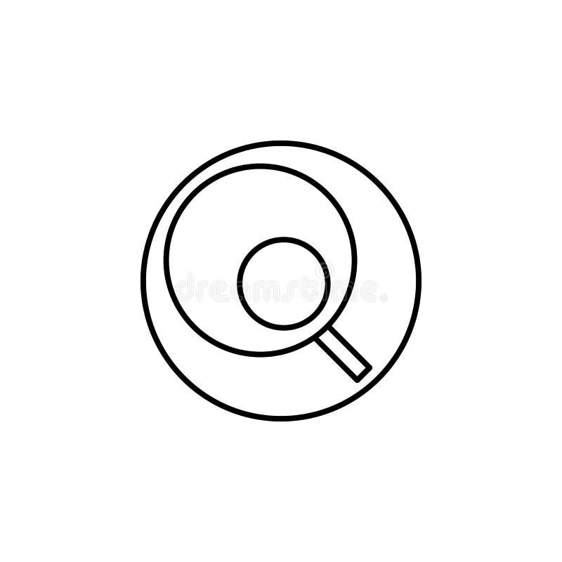 Tasse und Untertassen-Ikone Kann für Netz, Logo, mobiler App, UI, UX verwendet werden lizenzfreie abbildung