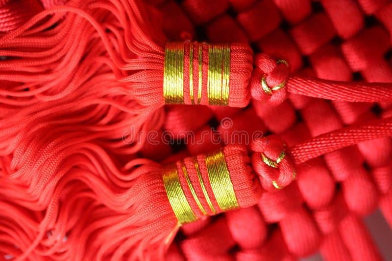 Tassel vermelho imagens de stock royalty free