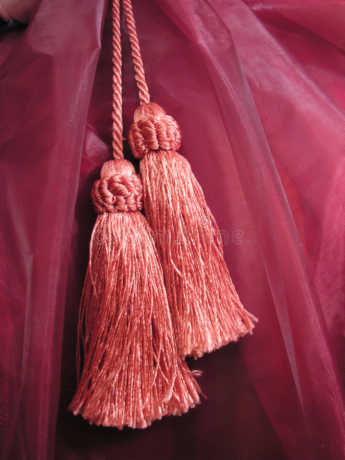 Download Tassels stock image. Image of refined, maroon, trimming - 1203261