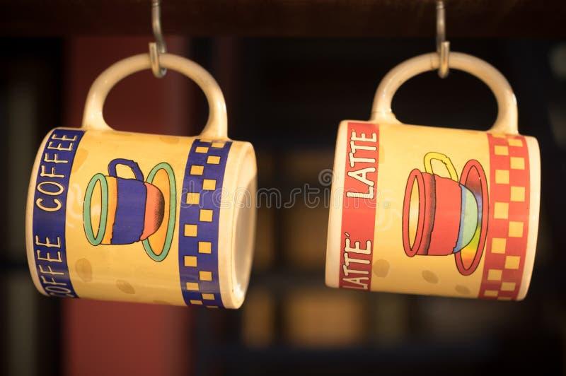Tasses de café images stock