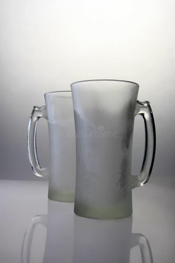 Tasses figées image libre de droits
