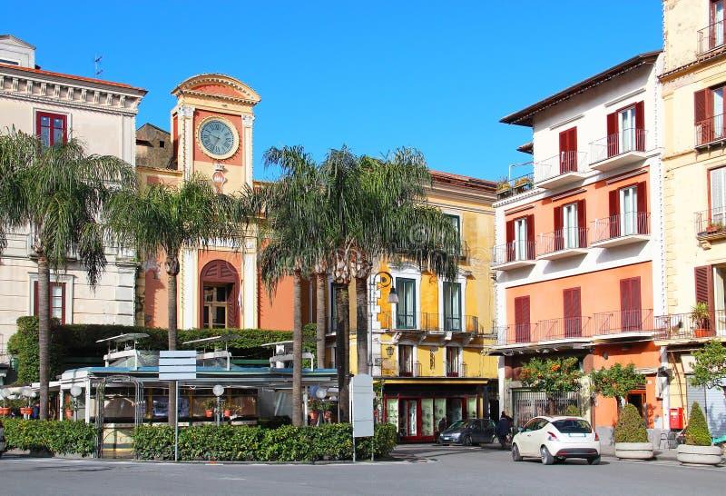 Tasso square, Sorrento. Tasso square in the center of Sorrento, Campania region, Italy stock photography