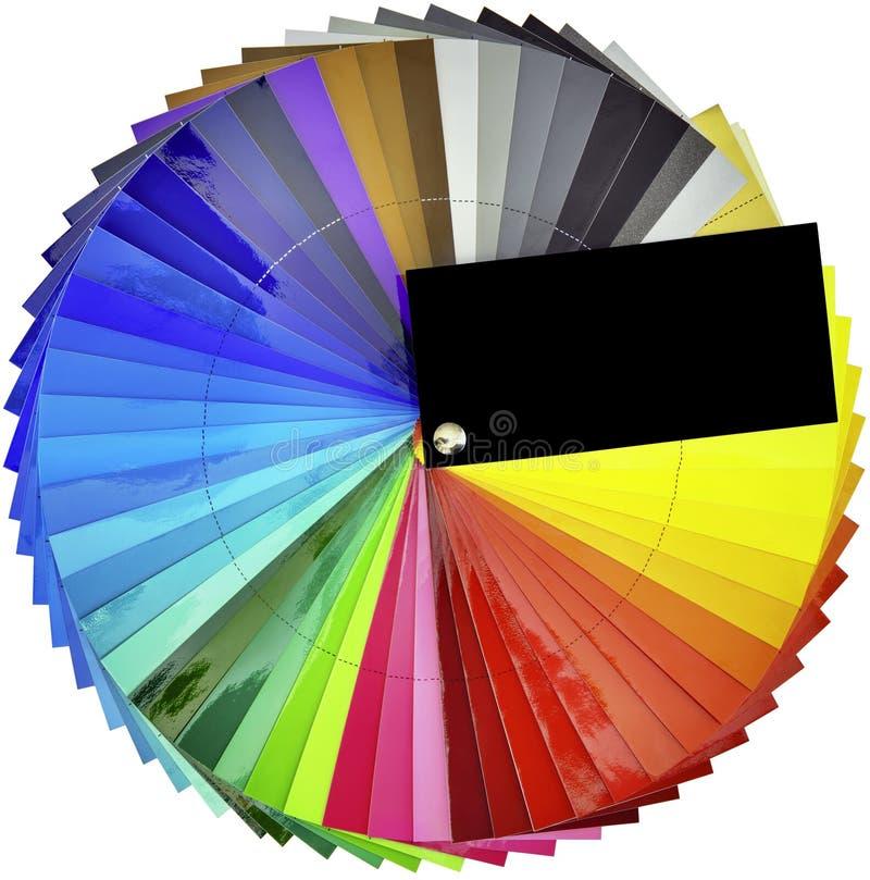 Tastatore del campione di colore immagine stock libera da diritti