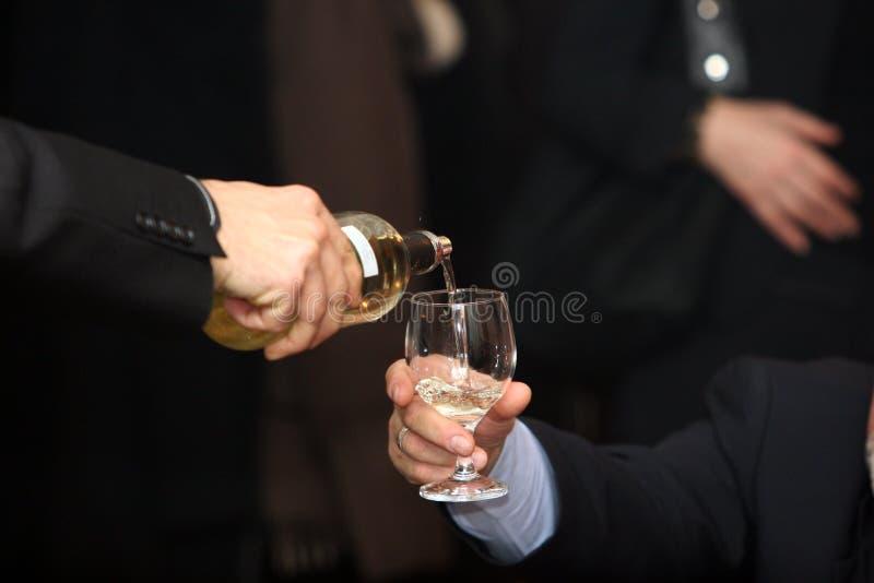 Tastatore del vino fotografia stock