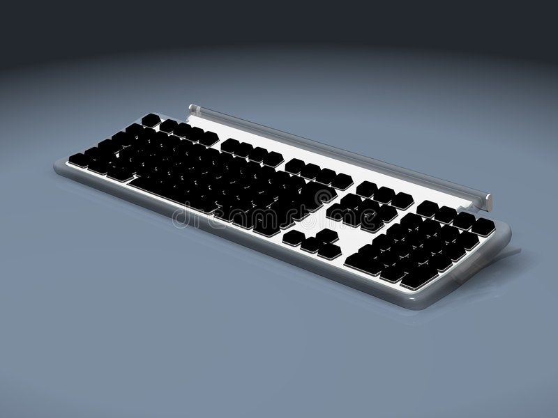 Tastatur stock abbildung