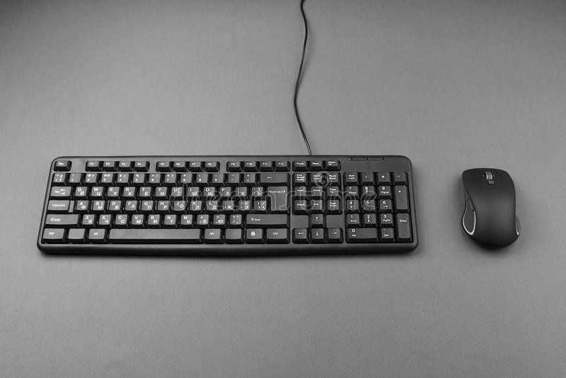 Tastatur für Computer stockbild