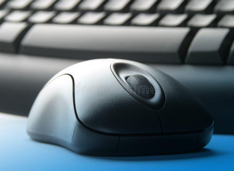 Tastatur und Maus lizenzfreie stockfotos