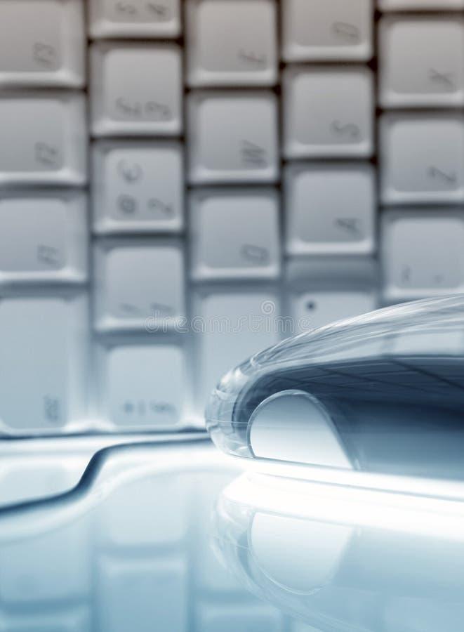 Tastatur und Maus stockfotografie