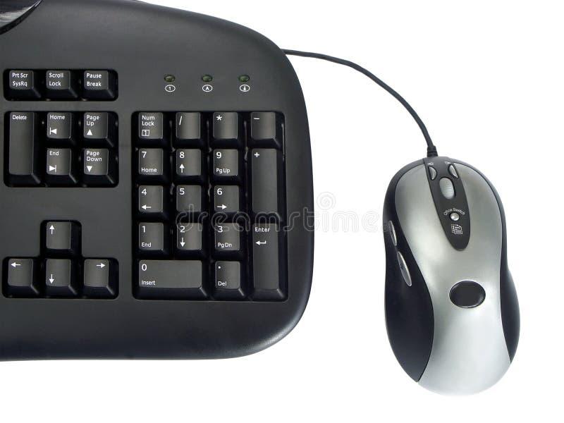 Tastatur und Maus stockbilder