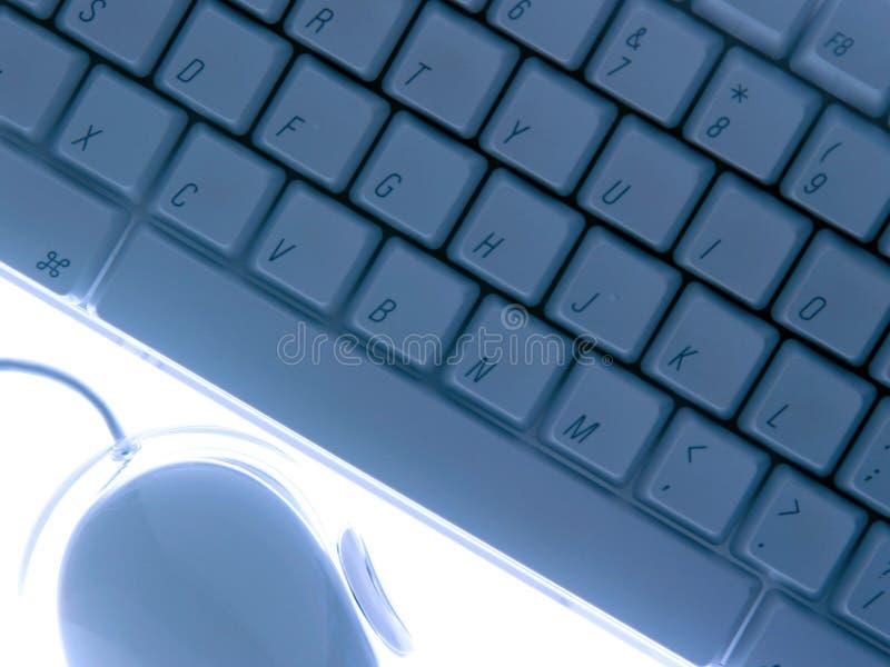 Tastatur Und Maus Lizenzfreies Stockfoto