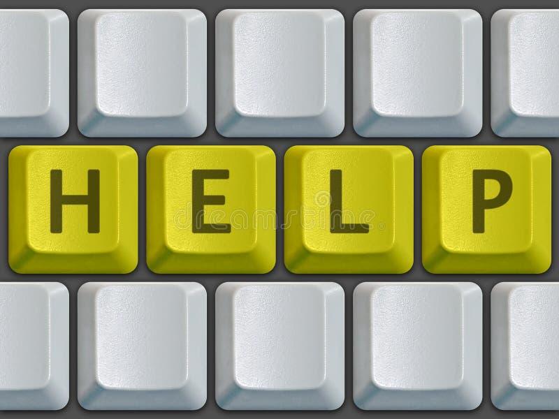 Tastaturhilfe lizenzfreie stockfotos