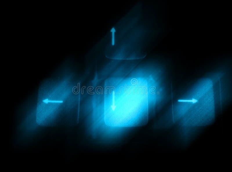 Tastaturhintergrund vektor abbildung